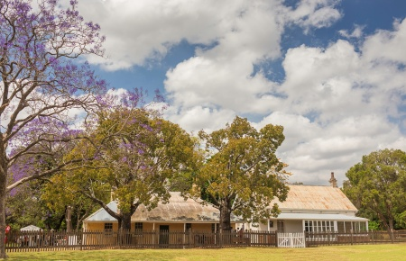 The Old Dairy and Rangers Cottages, Parramatta Park